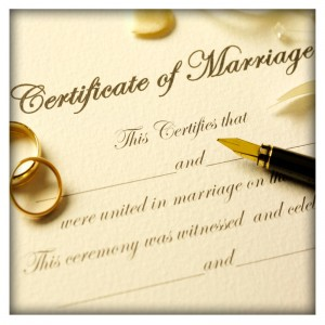 Marriage Certificate Verification